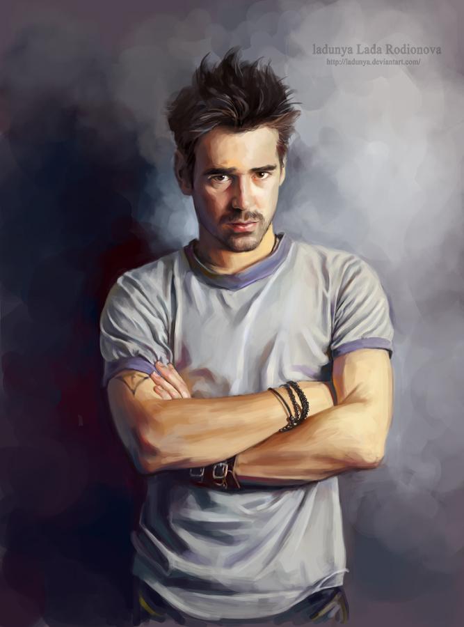 Colin Farrell by ladunya