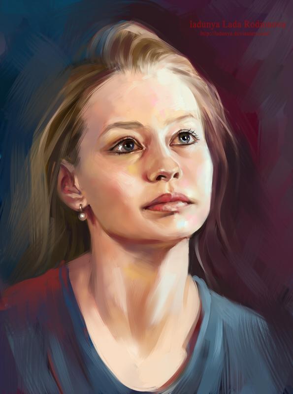 Julia Peresild by ladunya
