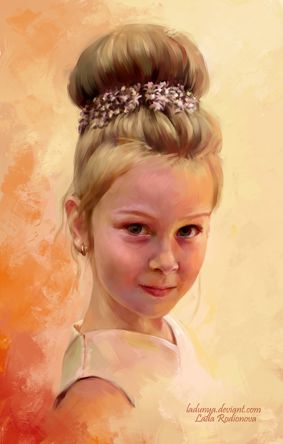 Miroslava by ladunya