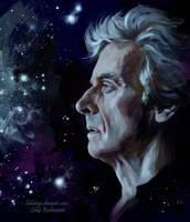 Space Doctor Who by ladunya