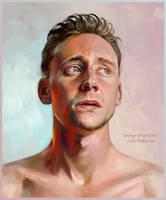 Tom Hiddleston by ladunya