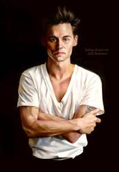 Johnny Depp by ladunya