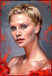 Charlize Theron by ladunya