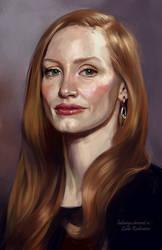 Jessica Chastain by ladunya