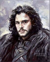 Jon Snow by ladunya