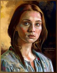 Sansa Stark by ladunya