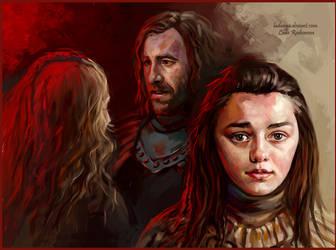 Arya Stark by ladunya