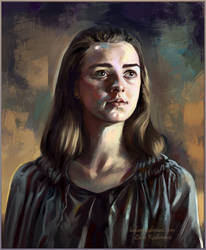 Arya Stark1 by ladunya
