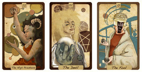 Tarot Cards by witeiris