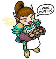 Paladin Buffins by angermuffin