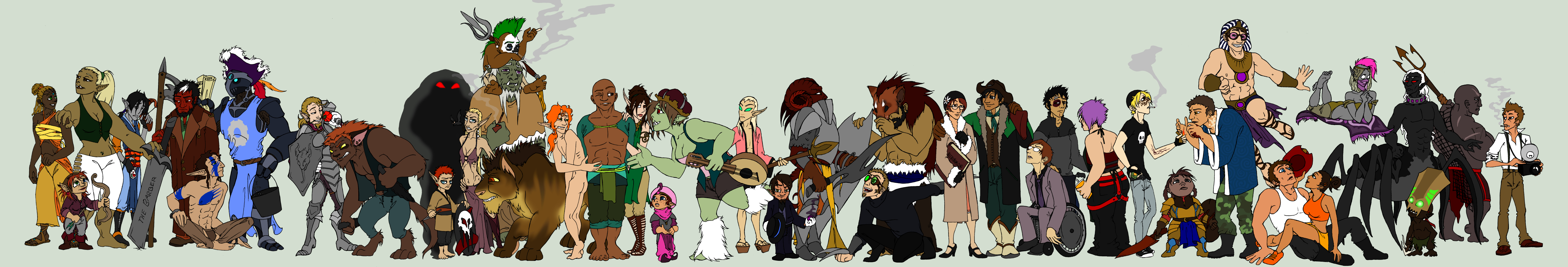 Giant Group Picture is Even More Giant by angermuffin