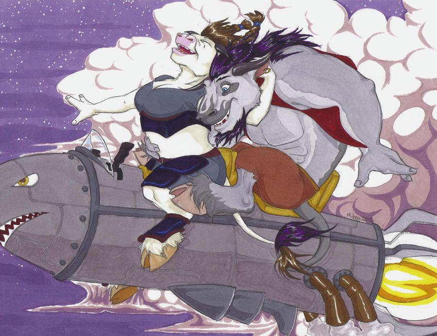 Magic Rocket Ride by angermuffin