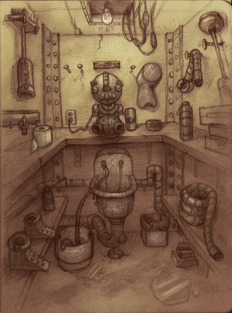 Janitor Closet By Tokechan ...