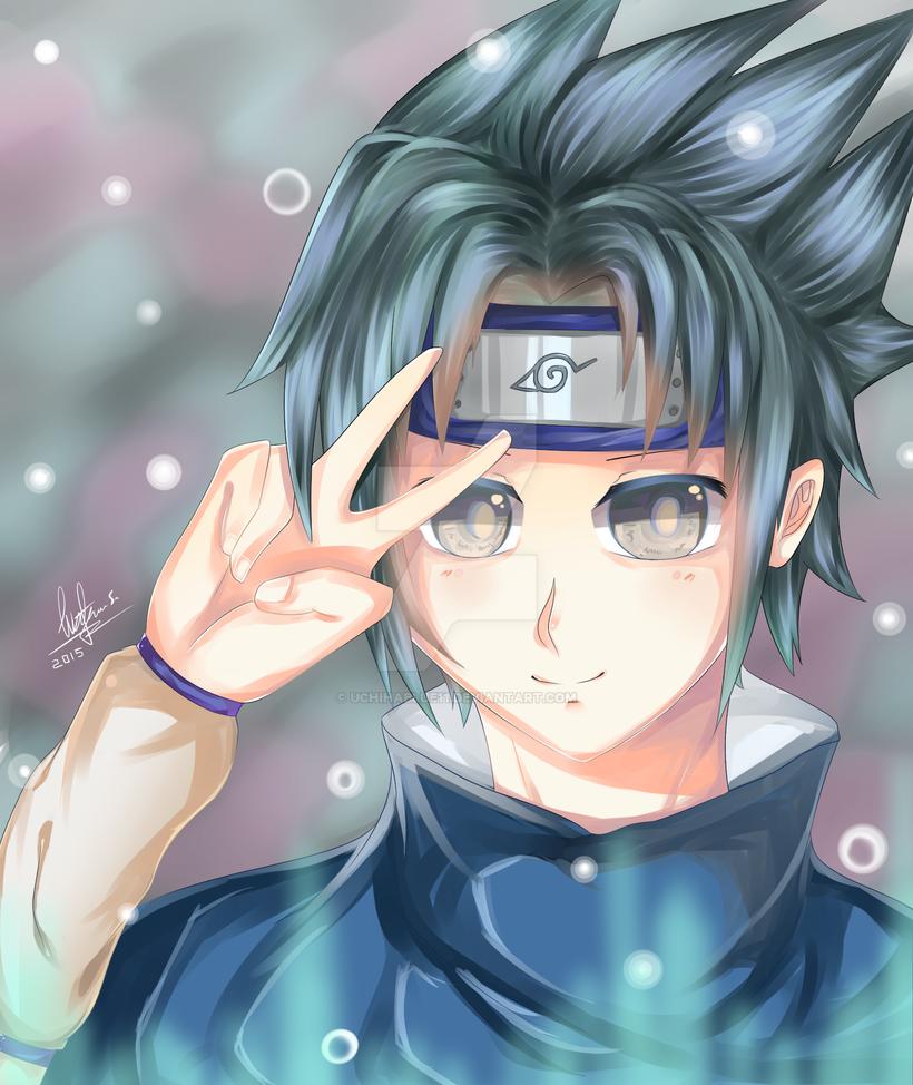 Uchiha Sasuke  - Friend request by UchihaBlue11