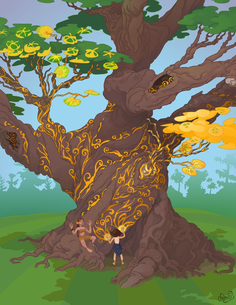 Mother Tree by WonderDookie