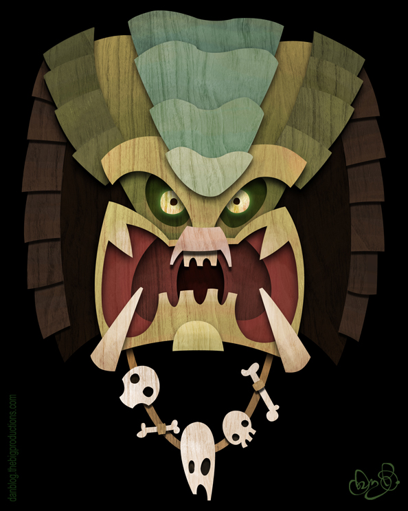 Tiki Predator by WonderDookie