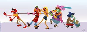 Electric Mayhem by WonderDookie