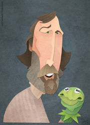 Jim Henson by WonderDookie