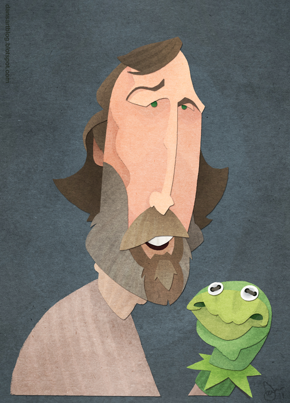 Jim Henson by WonderDookie