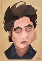 Benicio Del Toro by WonderDookie