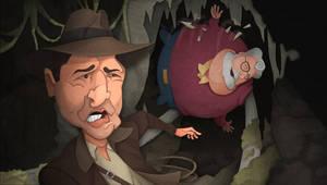 Indiana Jones on the Run