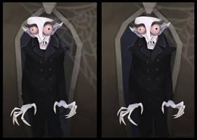 Count Orlok 3D by WonderDookie