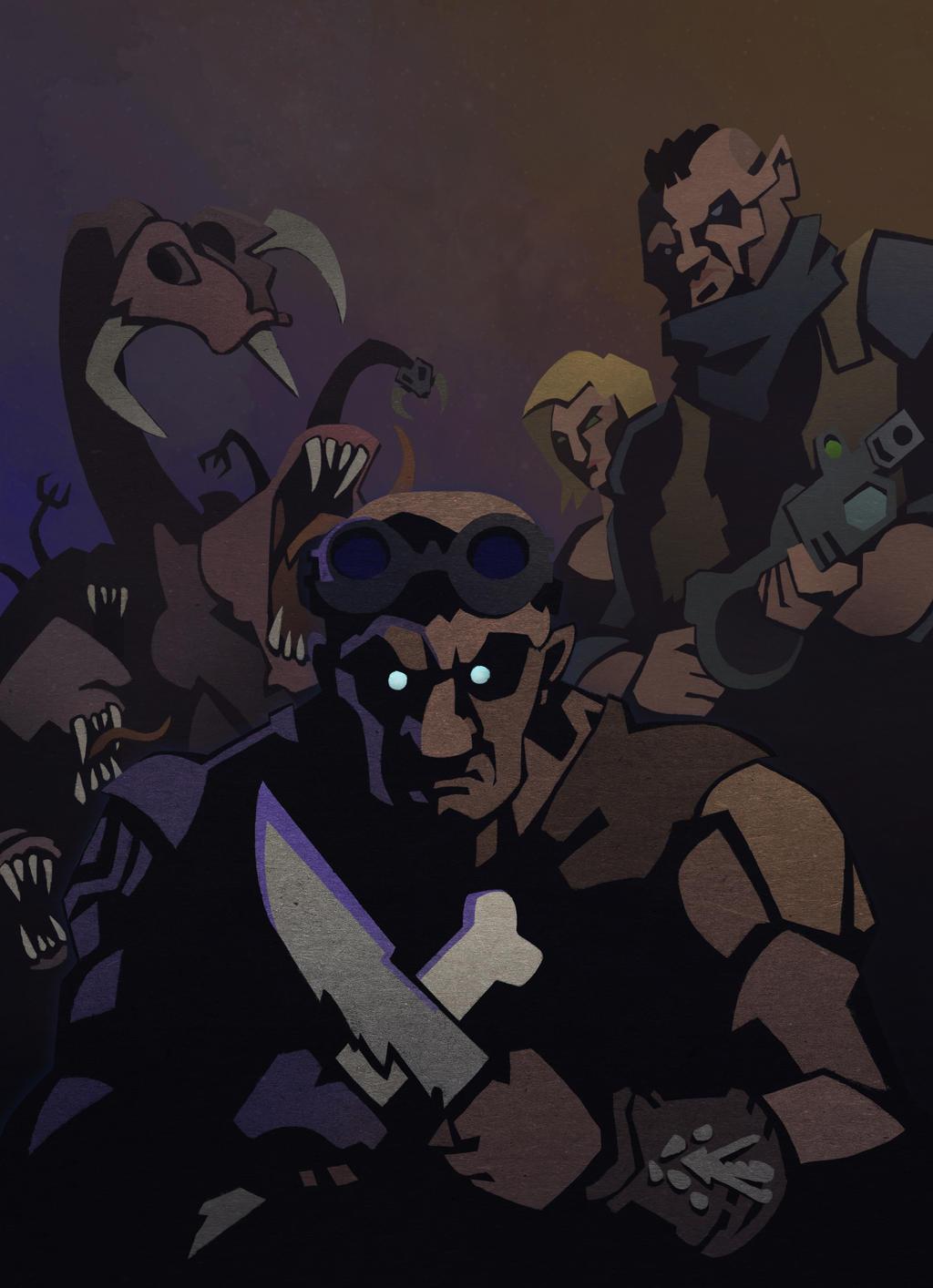 Riddick by WonderDookie