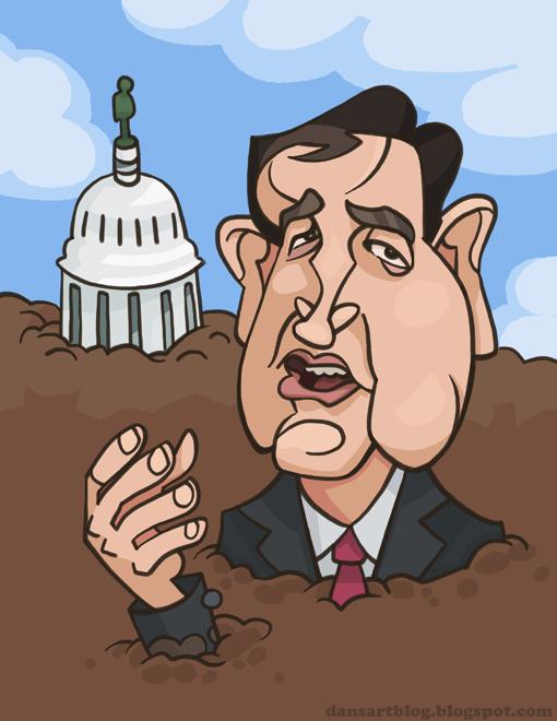 Senator Ted Cruz by WonderDookie