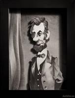 Lincoln Portrait by WonderDookie