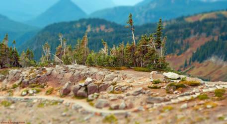 Mt Rainier Tilt-Shift
