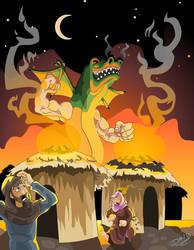 Trogdor by WonderDookie