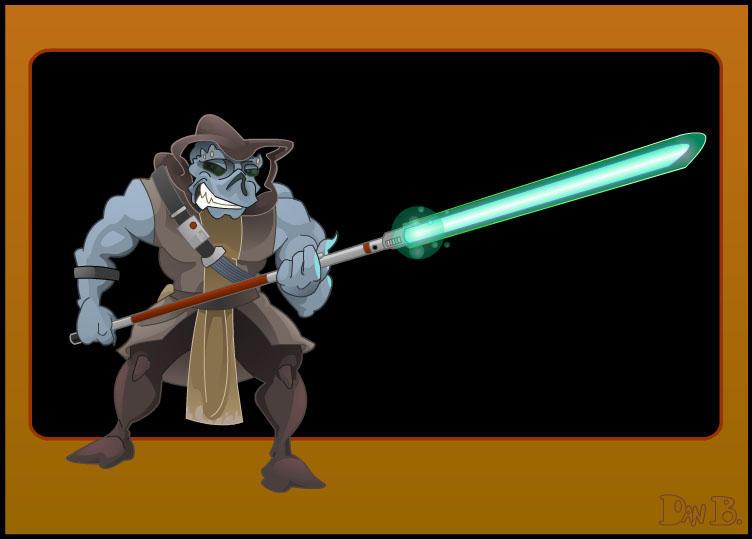 Jedi Noghri by WonderDookie