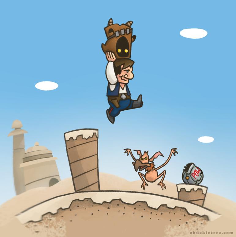 Super Stario Wars 2 by WonderDookie