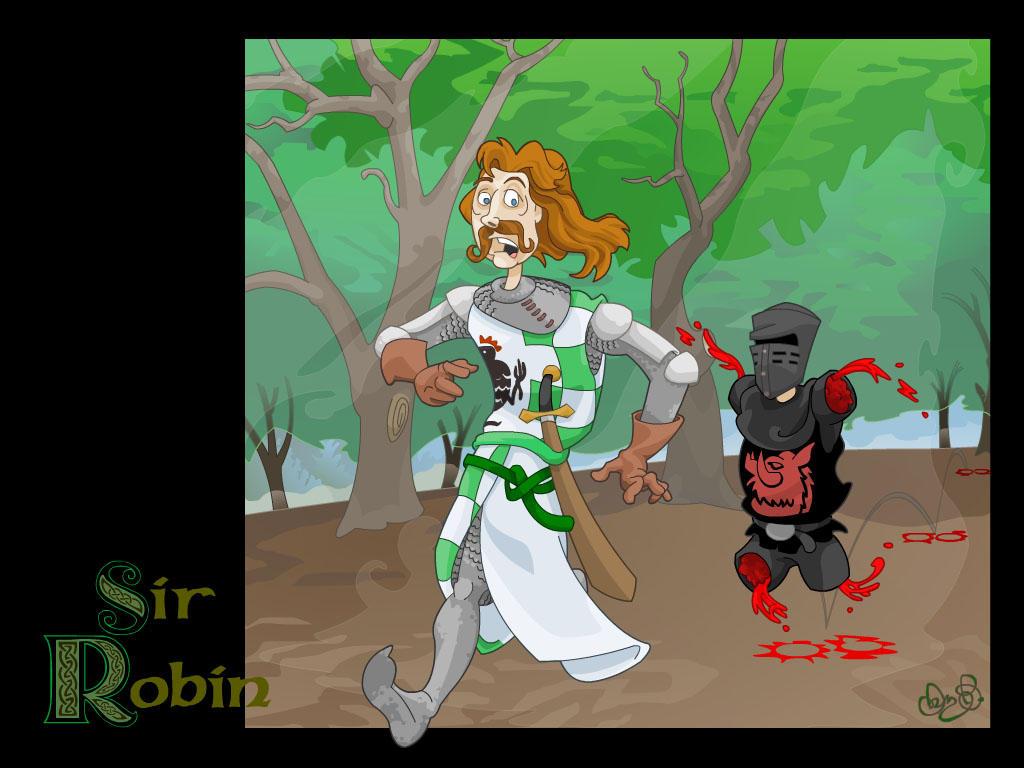 Brave Sir Robin by WonderDookie