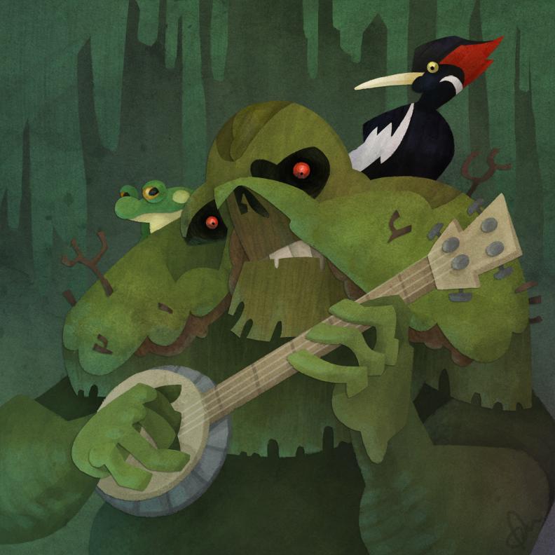 Banjo Pluckin' Swamp Thing