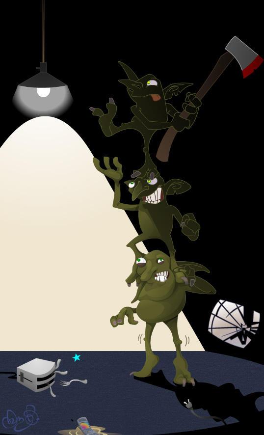 Gremlins by WonderDookie