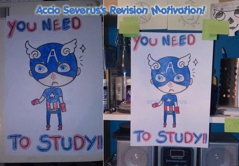 Motivation to Study! by flatlandq