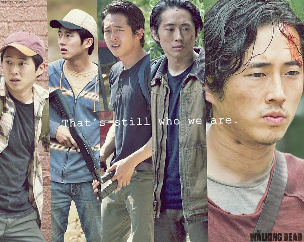 The Walking Dead Wallpaper Fanmade Glenn Rhee By Pluemkp On Deviantart