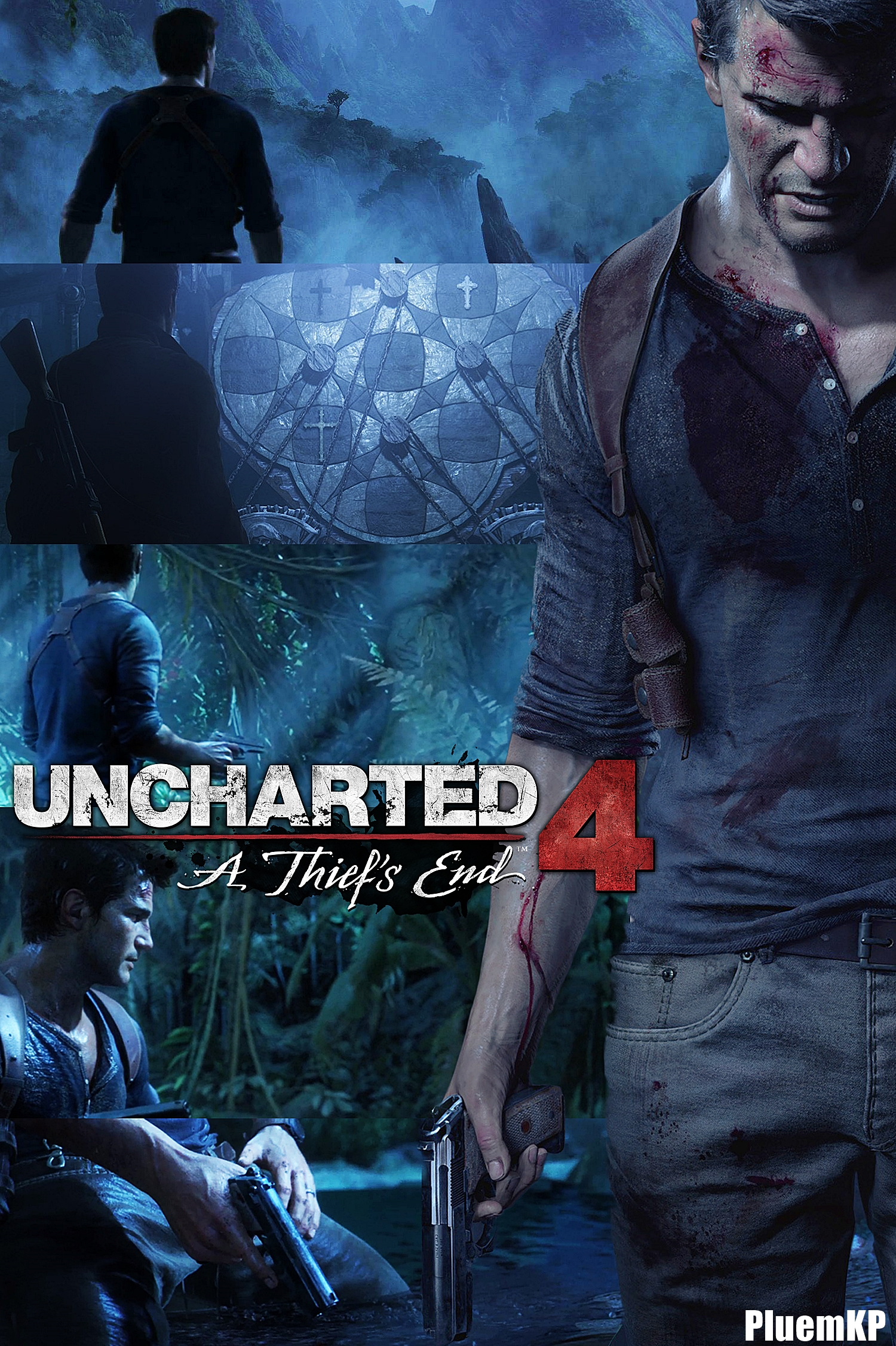 Uncharted 4 A Thief S End Poster By Pluemkp On Deviantart