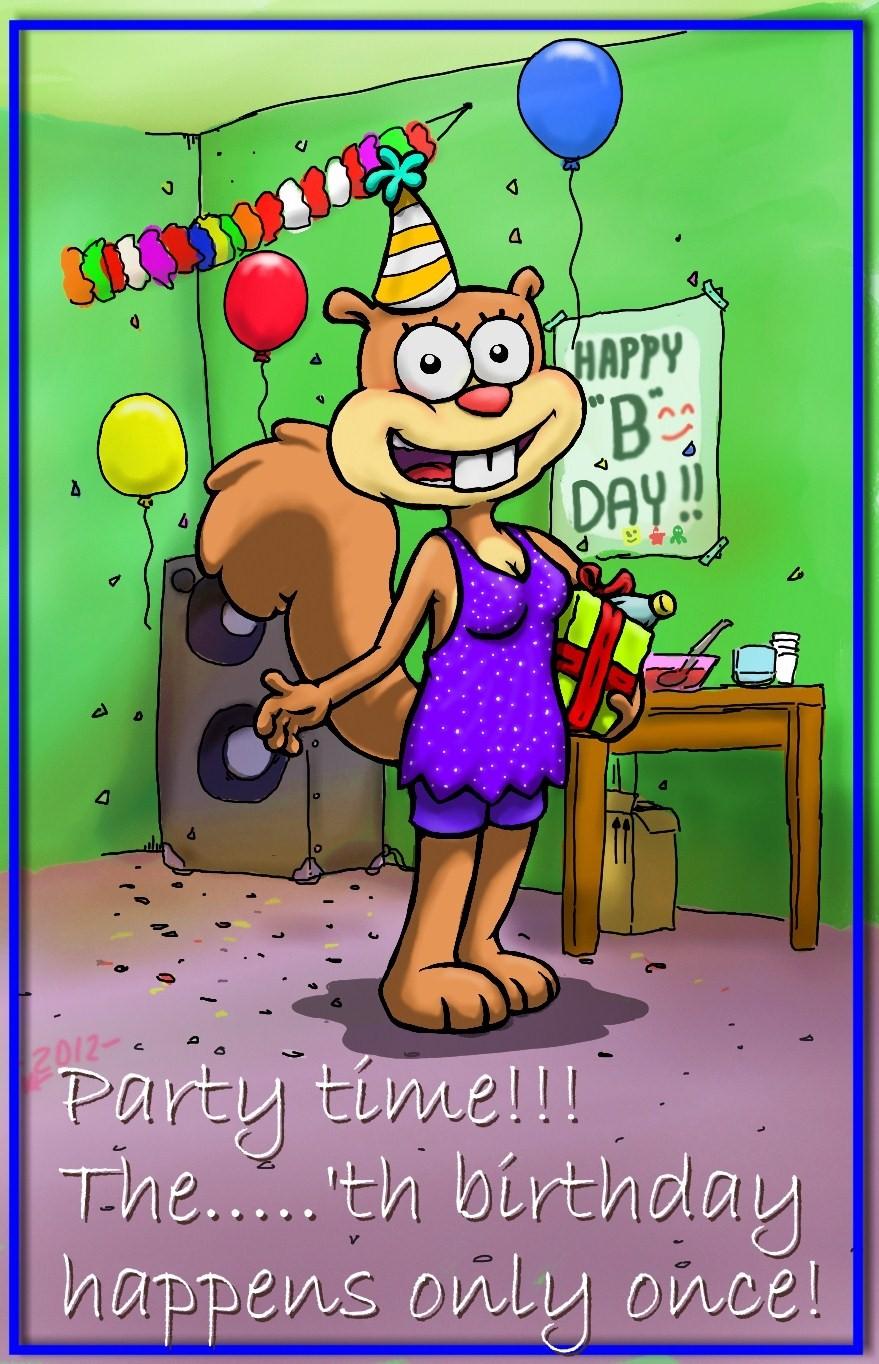 Spongebob birth date in Perth