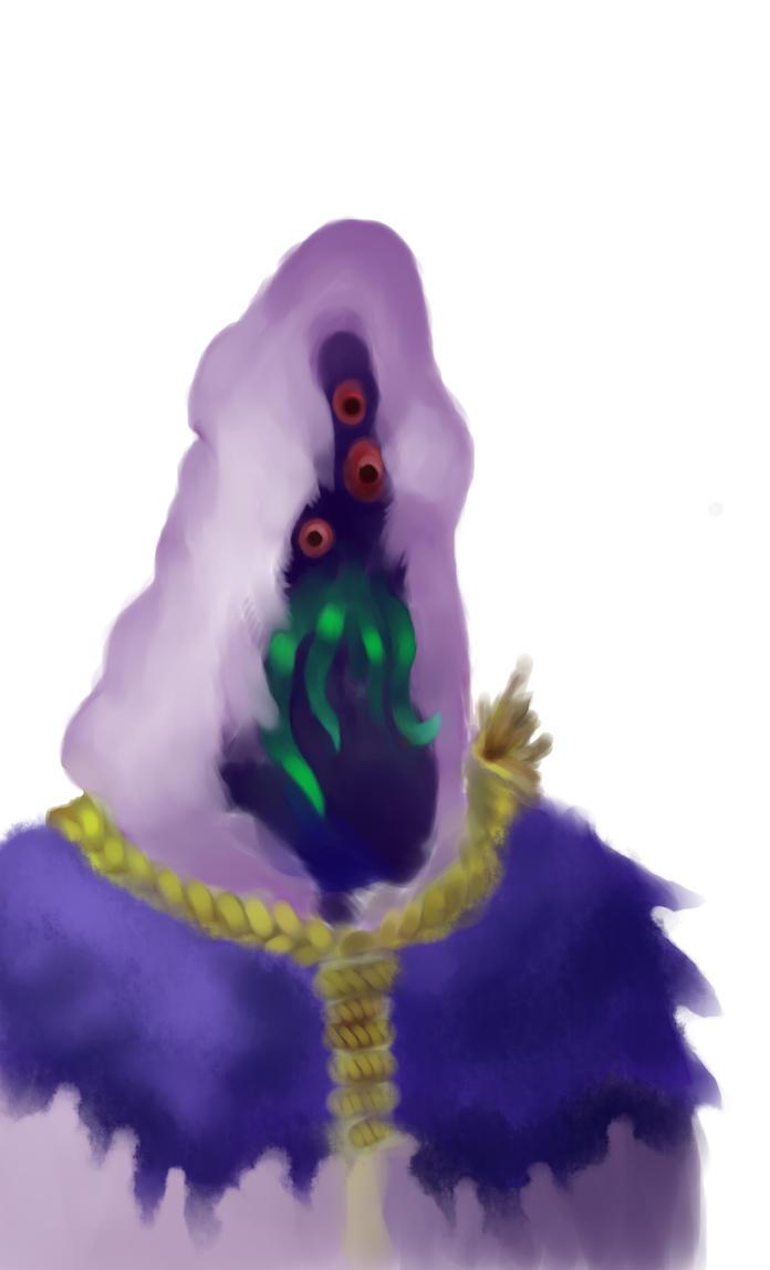 SAI Painting- Madman by FinishingHades