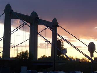 bridge at sunset 4