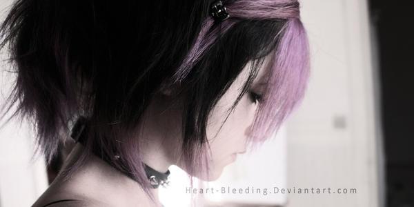 Oh dear , my new hair .. by Heart-Bleeding