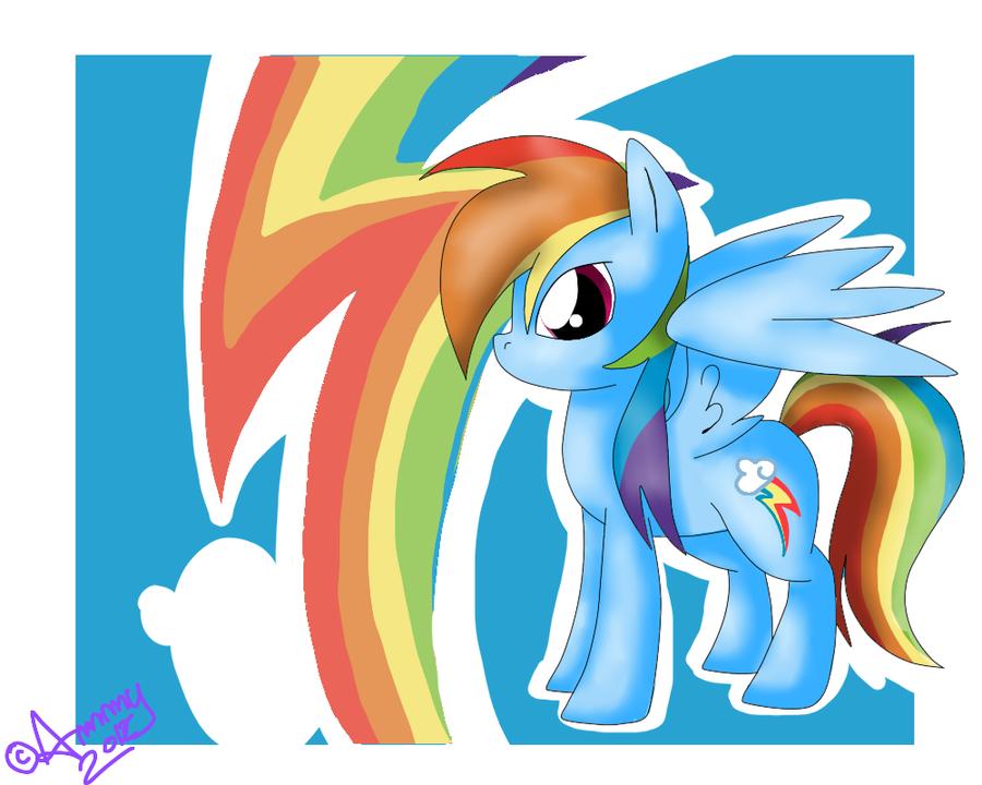 Rainbow Dash :3 by AmaterasuWarrior