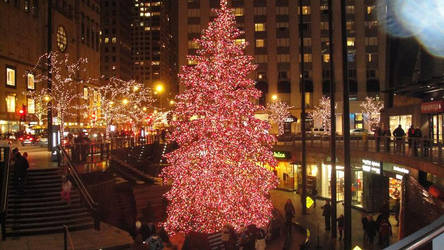 John Hancock Christmas Tree