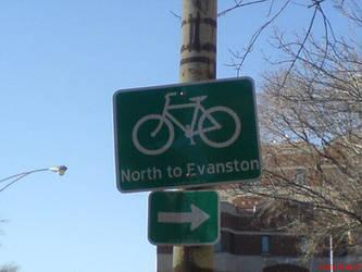 North to Evanston