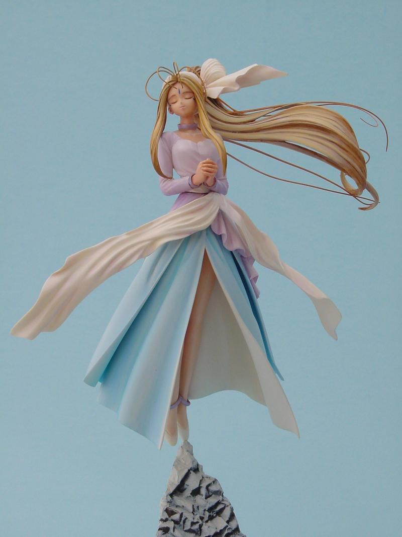 Angelic Belldandy Wishing by ArtyAMG