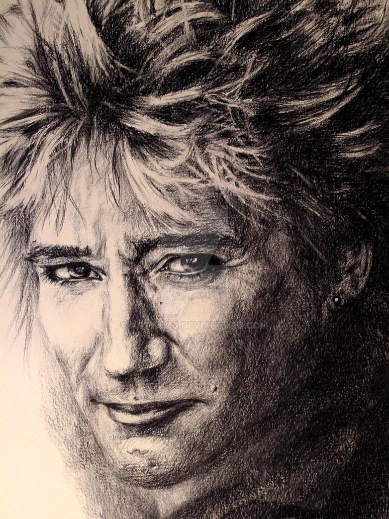 Rod Stewart Portrait by ArtyAMG