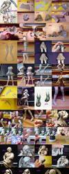 Delinda OC Sculpture WIP by ArtyAMG