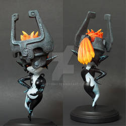 Imp Midna, Front and Back